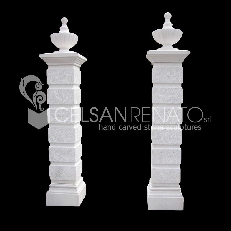 Realizzazione colonne e pilastri in pietra di vicenza for Costo per costruire pilastri di pietra