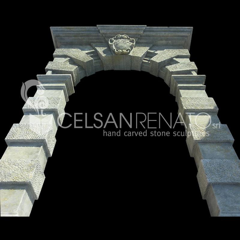 Realizzazione Cornici Per Porte E Finestre In Pietra Di Vicenza