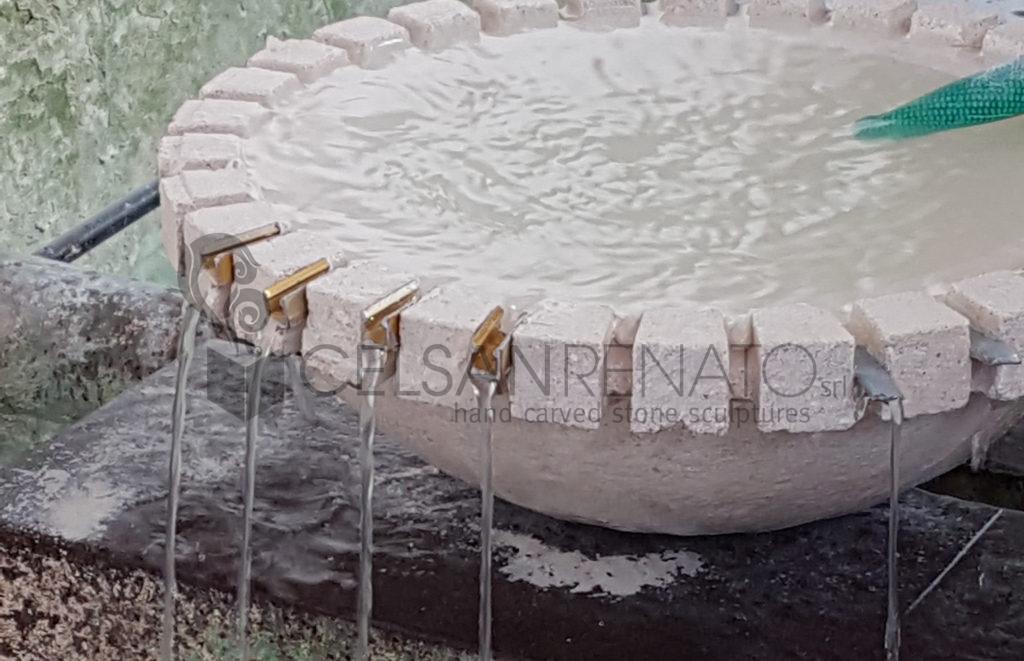 Fontana Giardino Pietra : Realizzare una fontana da giardino in pietra dal progetto al test